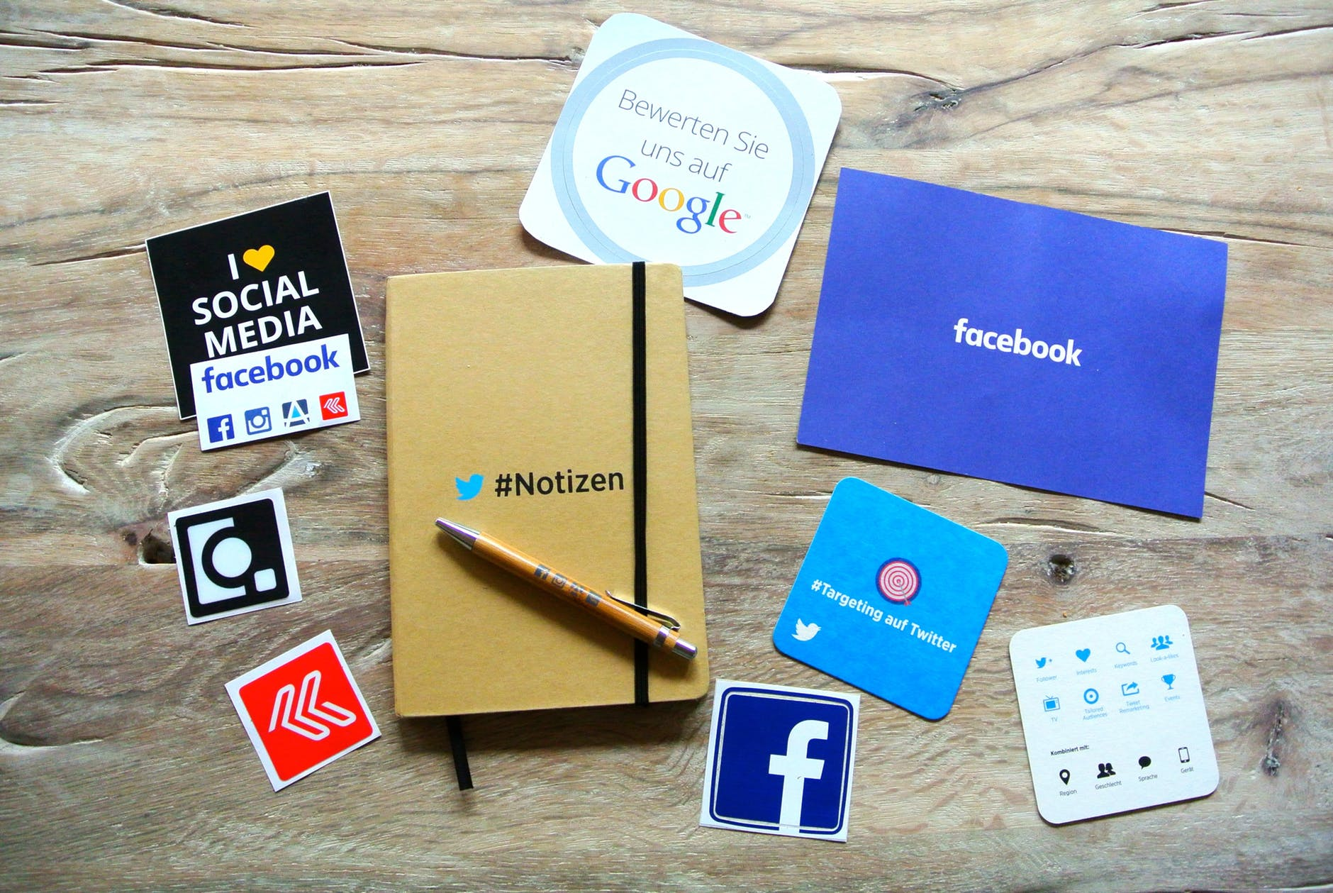 facebook instagram network notebook USA Social media - The Top 3 Ways of Using Digital Marketing to Promote Your Preschool